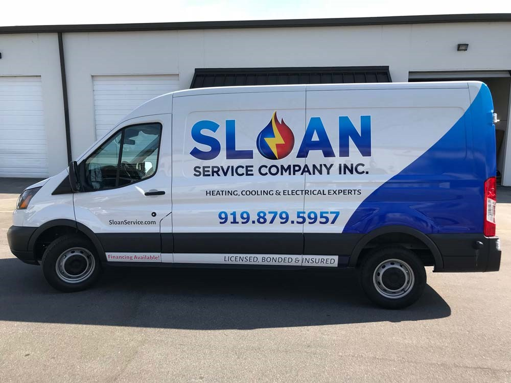 raleigh vehicle wrap