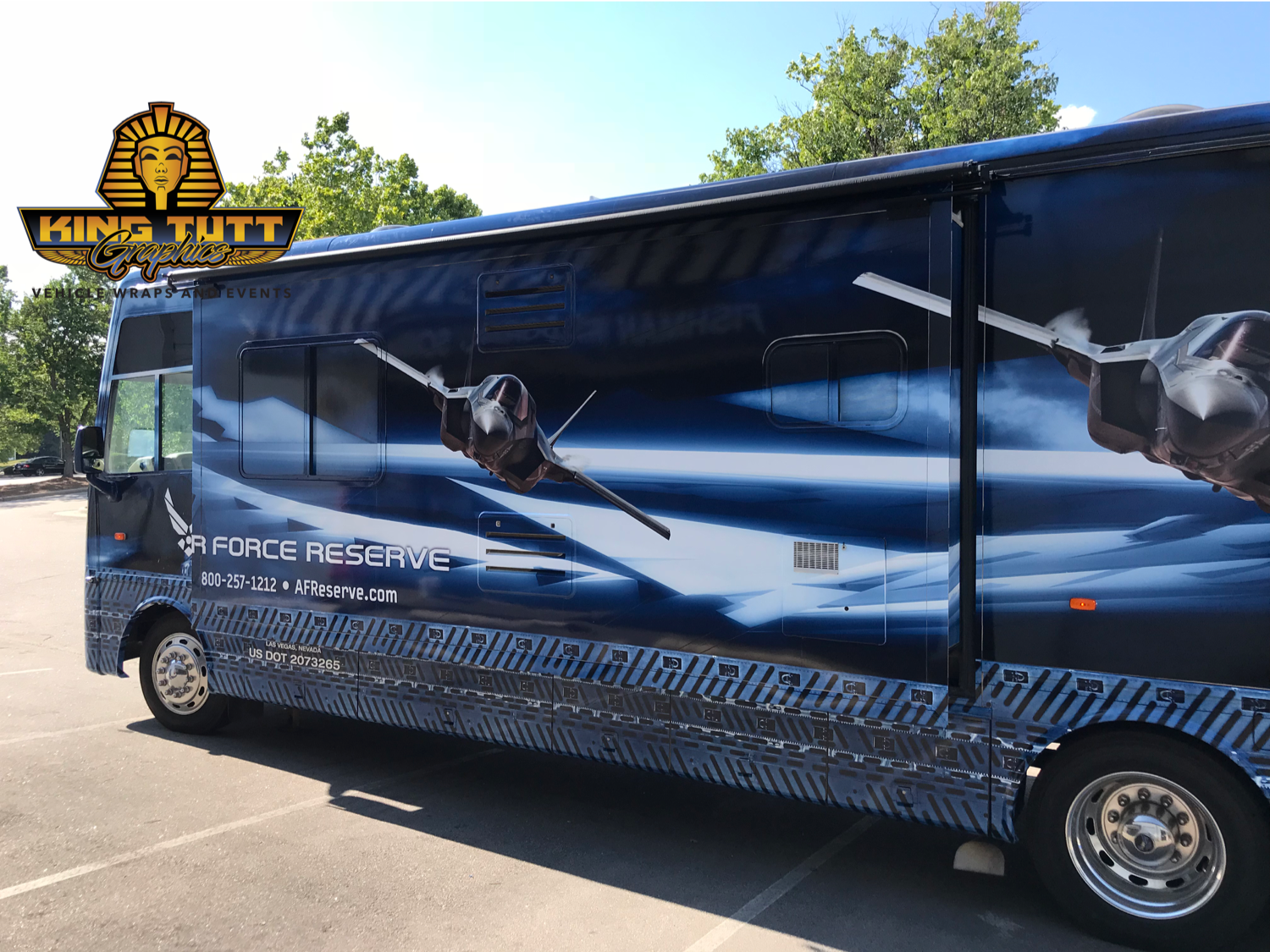 RV Wraps in Raleigh, NC