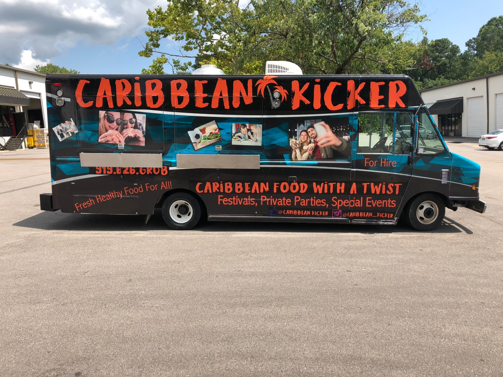 Food Truck Wrap Raleigh, NC