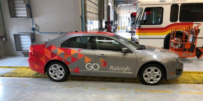 Color Change Wraps in Raleigh, North Carolina