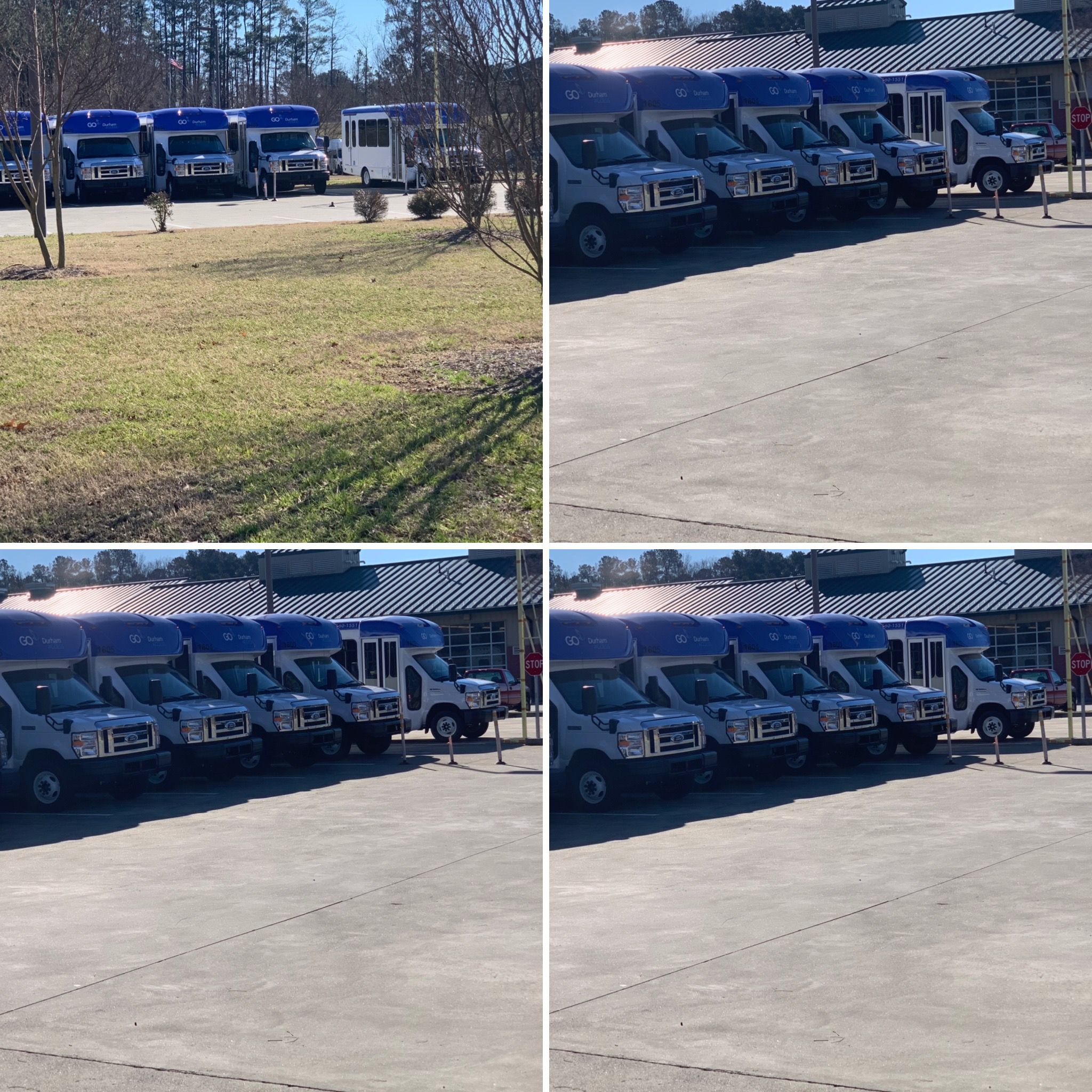 Go Durham Fleet Wraps Raleigh, NC