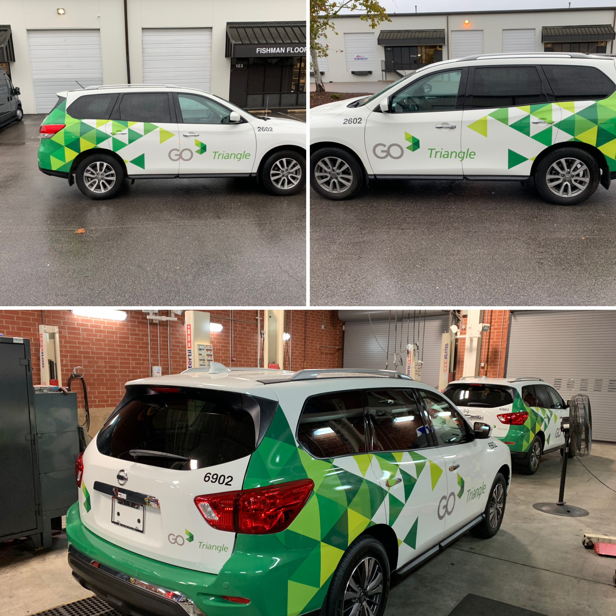 Shuttle car wraps Raleigh, NC