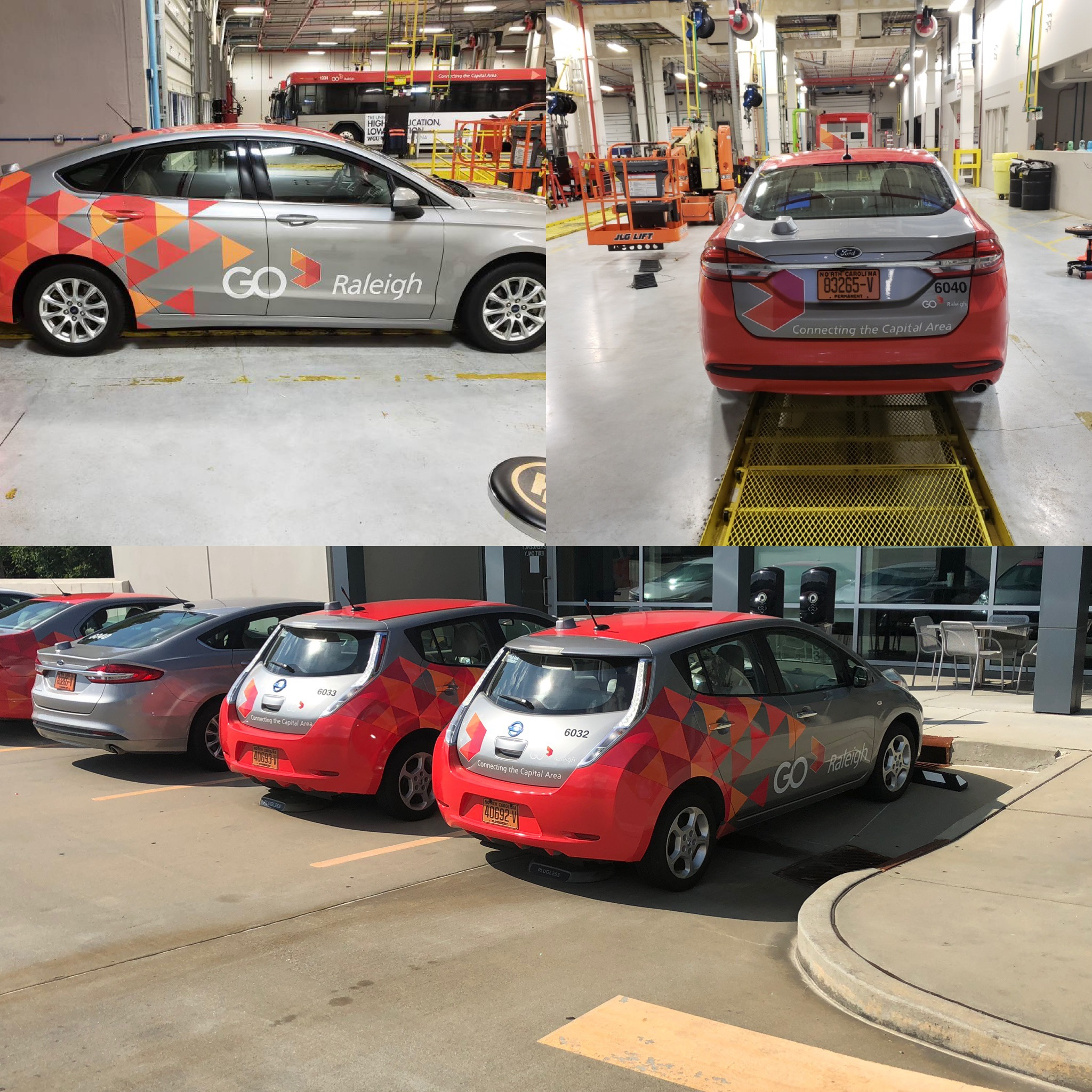 Staff fleet wraps Raleigh, NC