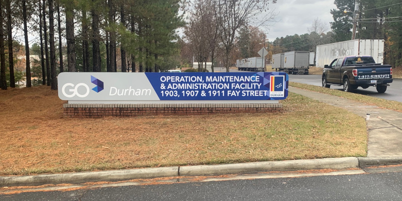 Sign Design in Raleigh, North Carolina