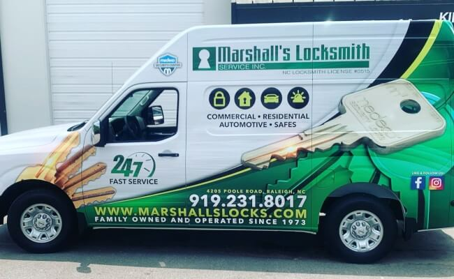 Vehicle Wrap Design in Raleigh, North Carolina
