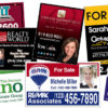 Realtor Signs in Raleigh, North Carolina
