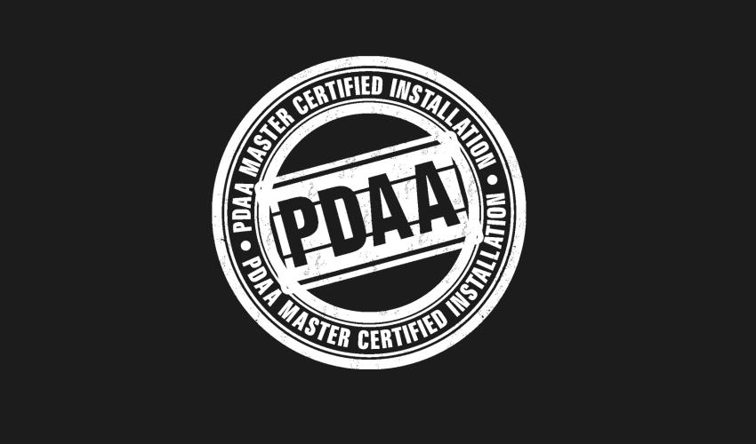 PDAA Master Certified Installer