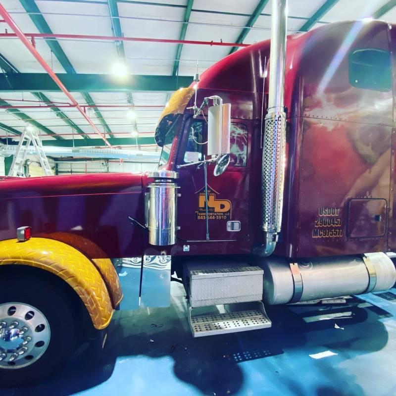tractor trailer wrap